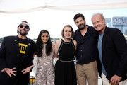Kevin Smith, Aparna Nancherla, Lily Stuart Streiff, Frank Lesser and Kelsey Grammer attend the #IMDboat at San Diego Comic-Con 2019: Day Three at the IMDb Yacht on July 20, 2019 in San Diego, California.