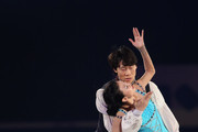 Qing Pang and Jian Tong of China performs their routine in the Gala during day four of the ISU Grand Prix of Figure Skating Final 2013/2014 at Marine Messe Fukuoka on December 8, 2013 in Fukuoka, Japan.