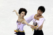 Dan Zhang and Hao Zhang of China compete in the Pairs Short Program during the 2010 ISU World Figure Skating Championships on March 23, 2010 at the Palevela in Turin, Italy.