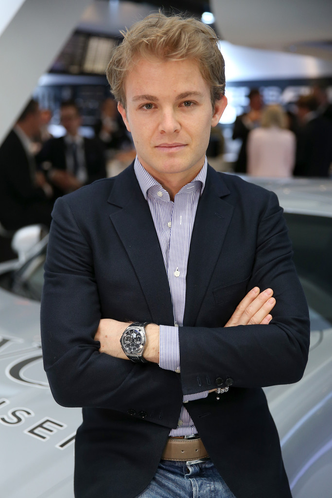 nico rosberg photos photos iwc booth at sihh 2013 zimbio. Black Bedroom Furniture Sets. Home Design Ideas