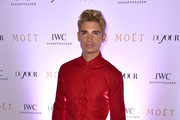 "Christian Acosta attends the IWC Schaffhausen and DuJour Magazine's Jason Binn's celebration of ""Timeless Portofino"" during Art Basel Miami Beach at The W Hotel South Beach on December 3, 2014 in Miami, Florida."