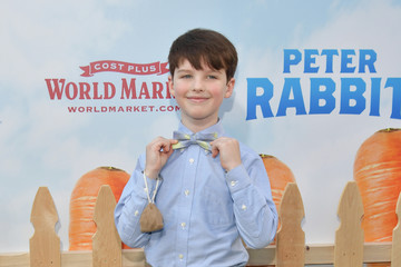Iain Armitage Premiere of Columbia Pictures' 'Peter Rabbit' - Arrivals