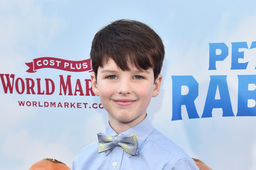 Iain Armitage Premiere of Columbia Pictures' 'Peter Rabbit' - Red Carpet