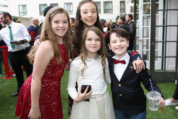 Iain Armitage Raegan Revord Brooks Brothers And St Jude Children's Research Hospital Annual Holiday Celebration In Beverly Hills