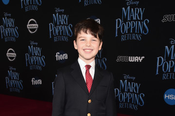 Iain Armitage Disney's 'Mary Poppins Returns' World Premiere