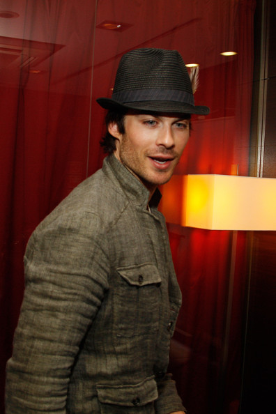 Ian Somerhalder, Matt Davis and Michael Trevino Attend 'BloodyNightCon' Press Conference