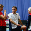 Ian Bates Fed Cup Europe/Africa Group One: Day 1