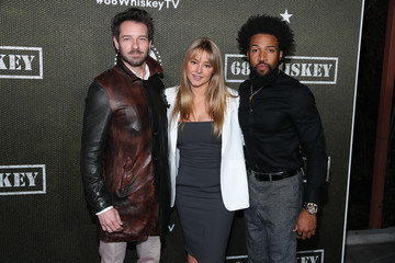 """Ian Bohen Denim Richards Premiere Of Paramount Pictures' """"68 Whiskey"""" - Red Carpet"""