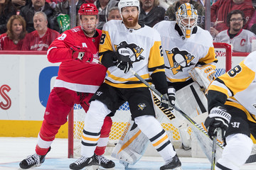 Ian Cole Pittsburgh Penguins v Detroit Red Wings