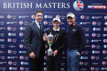 Ian Poulter Matthew Fitzpatrick British Masters - Day Four