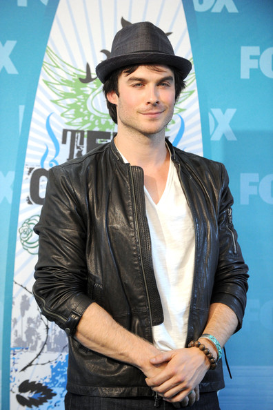 Ian Somerhalder Honoree Ian Somerhalder poses in press room during the 2010 Teen Choice Awards at Gibson Amphitheatre on August 8, 2010 in Universal City, California.