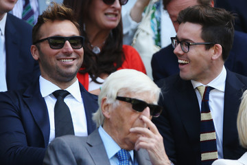 Ian Thorpe Wimbledon: Day 10