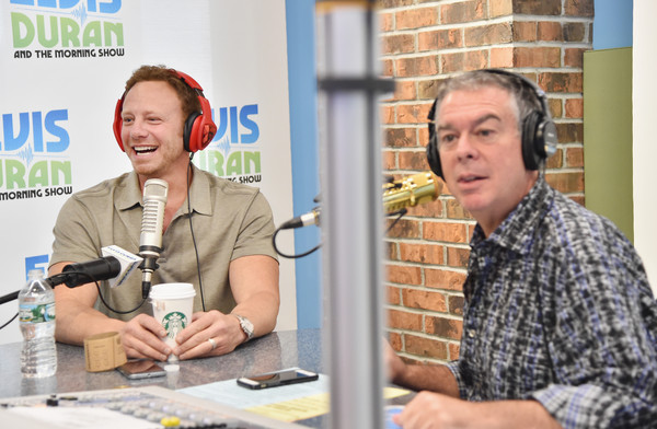 Ian Ziering Visits 'The Elvis Duran Z100 Morning Show'