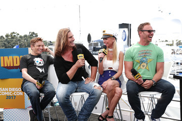 Ian Ziering Tara Reid #IMDboat at San Diego Comic-Con 2017: Day Two