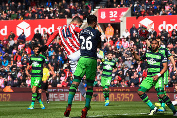 Ibrahim Afellay Stoke City v Swansea City - Premier League