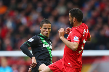 Ibrahim Afellay Liverpool v Stoke City - Premier League