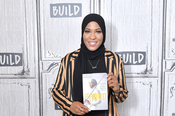 Ibtihaj Muhammad Celebrities Visit Build - July 25, 2018