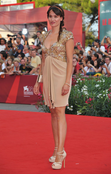 "Actress Marie Gillain attends ""The Ides Of March"" premiere during the 68th Venice Film Festival at the Palazzo del Cinema on August 31, 2011 in Venice, Italy."