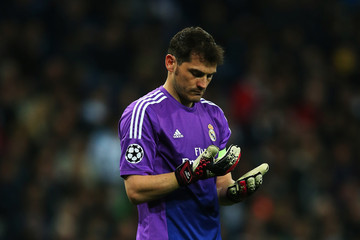 Iker Casillas Real Madrid v Borussia Dortmund