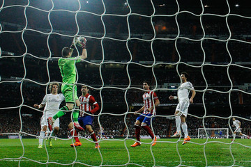 Iker Casillas Real Madrid v Atletico Madrid