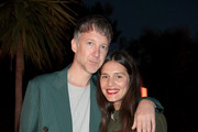 Jefferson Hack (L) and Margherita Missoni attend the 'Il Pellicano Travel Guide' cocktail launch at the Hotel Il Pellicano on October 4, 2014 in Porto Ercole, Italy.