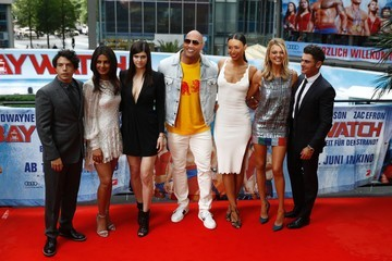 Ilfenesh Hadera Europe Premiere of 'Baywatch' in Berlin