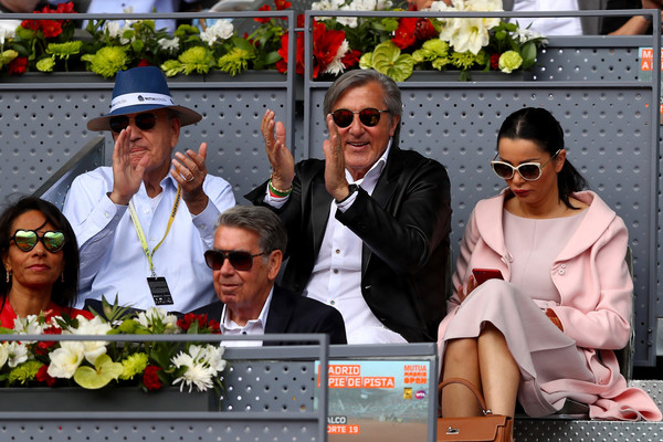 Ion Tiriac Defends Nastase, Speaks Out Against Wild Cards For Sharapova
