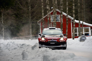 Ilka Minor FIA World Rally Championship Sweden - Shakedown