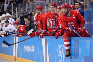 Ilya Kovalchuk Ice Hockey - Winter Olympics Day 8
