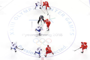 Ilya Kovalchuk Ice Hockey - Winter Olympics Day 12