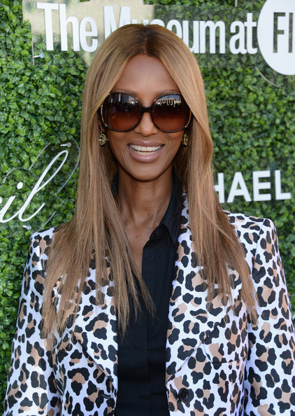 Iman - Arrivals at the Couture Council Luncheon