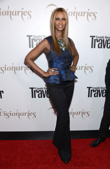 """Iman - Conde Nast Traveler Celebrates """"The Visionaries"""" And 25 Years Of Truth In Travel - Red Carpet"""