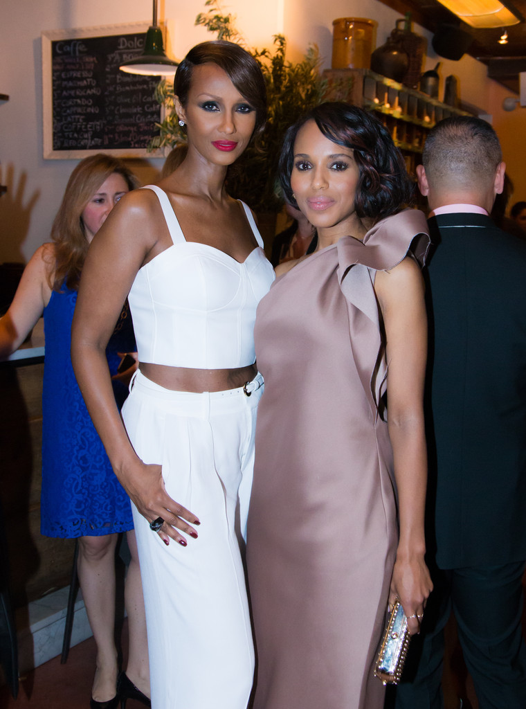 Iman - Kerry Washington Honored in NYC