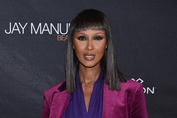 Iman Jay Manuel Beauty x Simon Launch Event