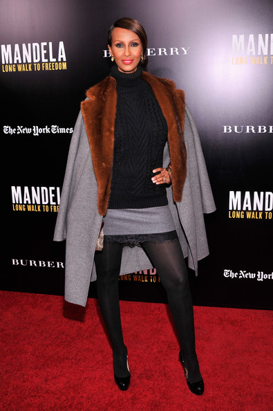 Iman - 'Mandela: Long Walk to Freedom' Screening in NYC — Part 3