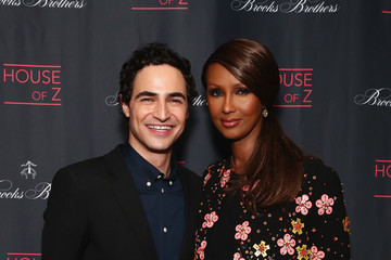 Iman Brooks Brothers and Zac Posen Host Premiere Party for 'House of Z' at Tribeca Film Festival