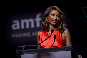 Iman Moet & Chandon Toasts to the amfAR New York Gala at Cipriani Wall Street