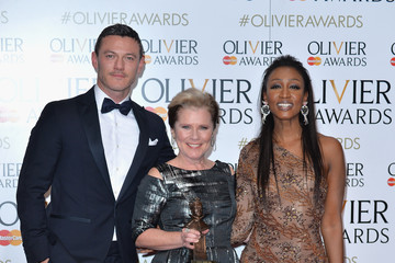 Imelda Staunton The Olivier Awards with Mastercard - Winners Room