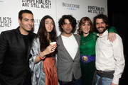 "(L-R) Producer Mohammed Al Turki, director Zeina Durra and actors Karim Saleh, Marianna Kulukundis and José María de Tavira attend ""The Imperialists Are Still Alive!"" after party held at Trousdale on April 19, 2011 in West Hollywood, California."