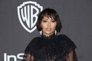 Kat Graham attends the InStyle And Warner Bros. Golden Globes After Party 2019 at The Beverly Hilton Hotel on January 6, 2019 in Beverly Hills, California.