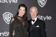 Ruve McDonough (L) and Neal McDonough attends the InStyle And Warner Bros. Golden Globes After Party 2019 at The Beverly Hilton Hotel on January 6, 2019 in Beverly Hills, California.