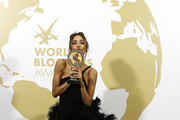 Patricia Contreras attends theInaugural 'World Bloggers Awards' during the 72nd annual Cannes Film Festival on May 22, 2019 in Cannes, France. The 'World Bloggers Awards' is the world's first ever awarding ceremony for the best bloggers across 22 nominations. It unites and celebrates influencers and opinion leaders from around the world in various fields, taking their social input to the higher level.