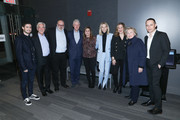 "(L-R) Jonny Cohen, Sir Ronald Cohen, Yaron Zilberman, Bill Clinton, Dalia Rabin, Sharon Cohen, Tamar Sela, Hillary Clinton and Ron Leshem attend a special screening of ""Incitement"" at The Landmark at 57 West on February 01, 2020 in New York City."