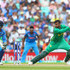 Shoaib Malik Photos - Shoaib Malik of Pakistan in action during the ICC Champions trophy cricket match between India and Pakistan at The Oval in London on June 18, 2017 - India v Pakistan - ICC Champions Trophy Final
