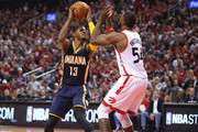 Patrick Patterson and Paul George Photos Photo