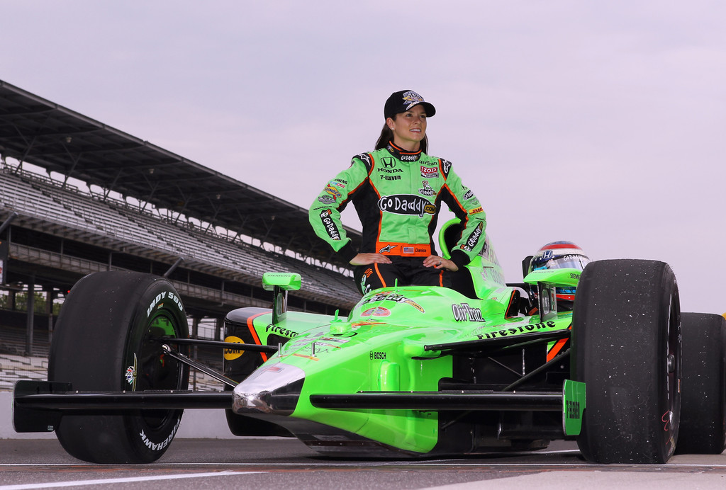Danica Patrick In Indianapolis 500 Mile Race Qualifying
