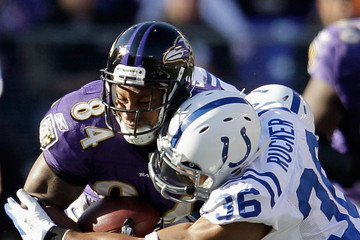 Chris Rucker Indianapolis Colts v Baltimore Ravens
