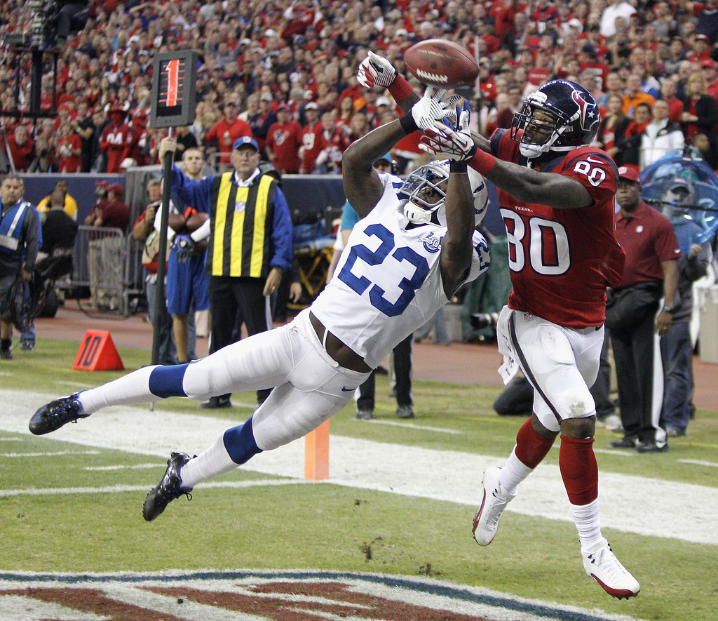 Vontae Davis s s Indianapolis Colts v Houston Texans
