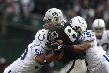 Tyjuan Hagler Indianapolis Colts v Oakland Raiders