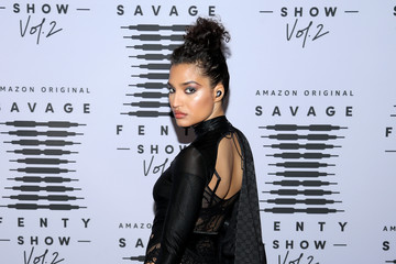 Indya Moore Rihanna's Savage X Fenty Show Vol. 2 presented by Amazon Prime Vide – Step and Repeat